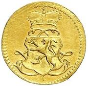 1 Kreuzer - Ludwig VIII. (Gold Pattern) – obverse