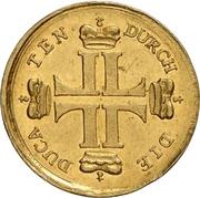 1 Ducat - Ludwig VIII. (Hirschdukat) – obverse