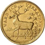 1 Ducat - Ludwig VIII. (Hirschdukat) – reverse