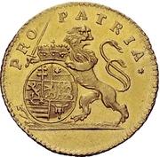 1 Ducat - Ludwig VIII. – reverse