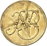 1 Ducat - Ludwig VIII. (Jagddukat) – obverse
