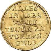 1 Ducat - Ludwig VIII. (Jagddukat) – reverse