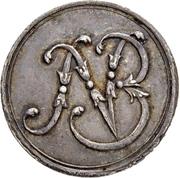 1 Ducat - Ludwig VIII. (Jagddukat; Silver pattern strike) – obverse
