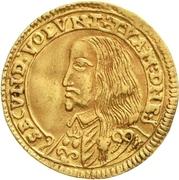 1 Ducat - Georg II. – obverse