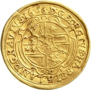 1 Ducat - Georg II. – reverse