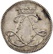 1 Ducat - Ludwig VIII. (Silver pattern strike) – obverse