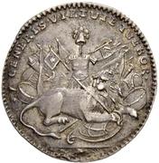 1 Ducat - Ludwig VIII. (Silver pattern strike) – reverse