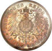 5 Mark - Ernst Ludwig – reverse