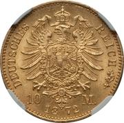 10 Mark - Ludwig III – reverse