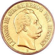 10 Mark - Ludwig III – obverse