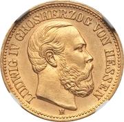 10 Mark - Ludwig IV – obverse