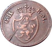 1 Pfennig - Ludwig X – obverse