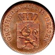 1 Pfennig - Ludwig III – obverse