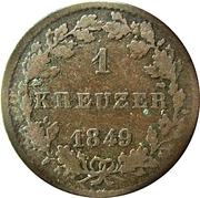 1 Kreuzer - Ludwig III. – reverse