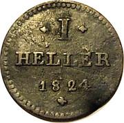 1 Heller - Ludwig II – reverse