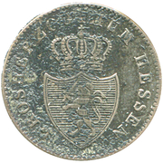 3 Kreuzer - Ludwig II – obverse