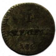 1 Kreuzer - Ludwig I. – reverse