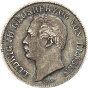 ½ Gulden - Ludwig III. – obverse