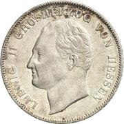 1 Gulden - Ludwig II. – obverse
