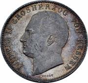 ½ Gulden - Ludwig II. – obverse