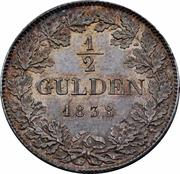 ½ Gulden - Ludwig II. – reverse