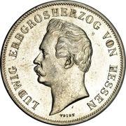 1 Gulden - Ludwig II. (Royal Visit) – obverse
