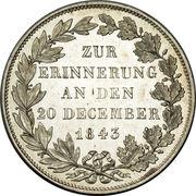 1 Gulden - Ludwig II. (Royal Visit) – reverse
