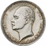 3 Mark - Ernst Ludwig (Jubilee - Pattern) – obverse