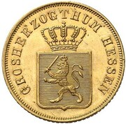 6 Kreuzer - Ludwig II. (Gold Pattern) – obverse