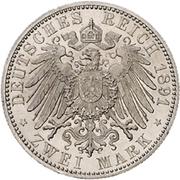 2 Mark - Ludwig IV – reverse