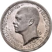 3 Mark - Ernst Ludwig (Jubilee) – obverse