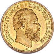 5 Mark - Ludwig IV – obverse