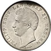 2 Gulden - Philipp August – obverse