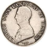 ½ Gulden - Ludwig Wilhelm – obverse