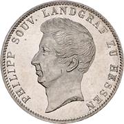 ½ Gulden - Philipp August – obverse