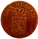 ¼ Kreuzer - Wilhelm II and Friedrich Wilhelm – obverse