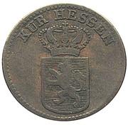 ½ Kreuzer - Wilhelm II and Friedrich Wilhelm – obverse