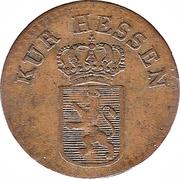 ¼ Kreuzer - Wilhelm II – obverse