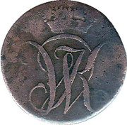 1 Heller - Wilhelm I – obverse