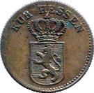 ½ Kreuzer - Wilhelm II – obverse