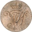 2 Heller - Wilhelm IX. – obverse