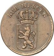 1 Kreuzer - Wilhelm II – obverse