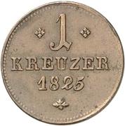 1 Kreuzer - Wilhelm II – reverse