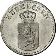 6 Kreuzer - Wilhelm II and Friedrich Wilhelm – obverse