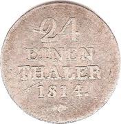 1/24 Thaler - Wilhelm I – reverse