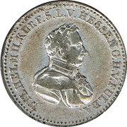 ⅙ Thaler - Wilhelm II. – obverse