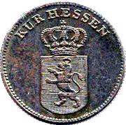 1 Kreuzer - Wilhelm II and Friedrich Wilhelm – obverse