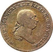 ½ Thaler - Wilhelm I – obverse