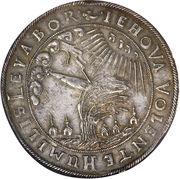 1 Thaler - Wilhelm VI (Weidenbaumtaler) – reverse