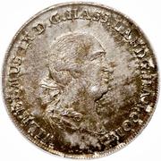 ½ Thaler - Wilhelm IX – obverse